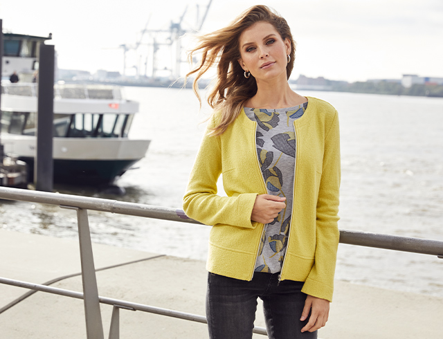 Neue Mode von Gina Laura