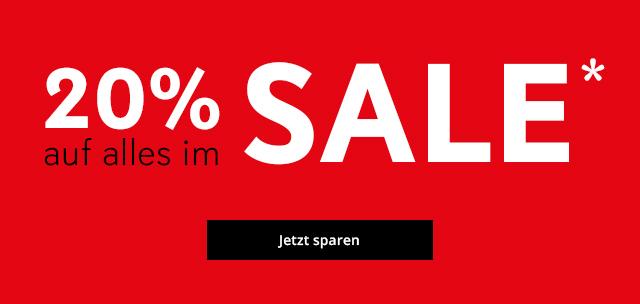 20% auf Sale