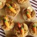Vegane Muffins mit Banane, Apfel und Zimt